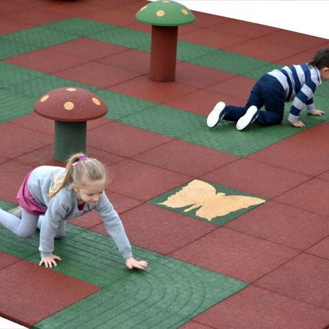 Playground tiles Hexdalle®